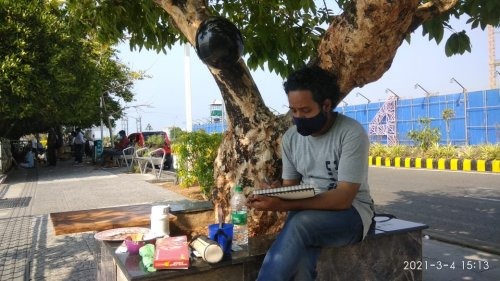 ASK Canopy ART-HOLIC Painters camp