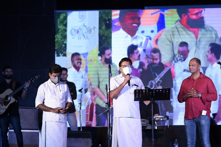 Mayor Adv. M Anilkumar Inaugurated ASK Musical  Night by Untagged at Durbar Hall on Feb 14 2021