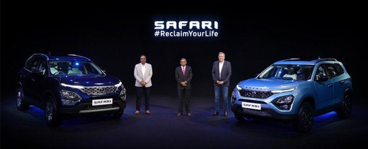 Tata Motors launches its iconic flagship SUV – the all-new Safari