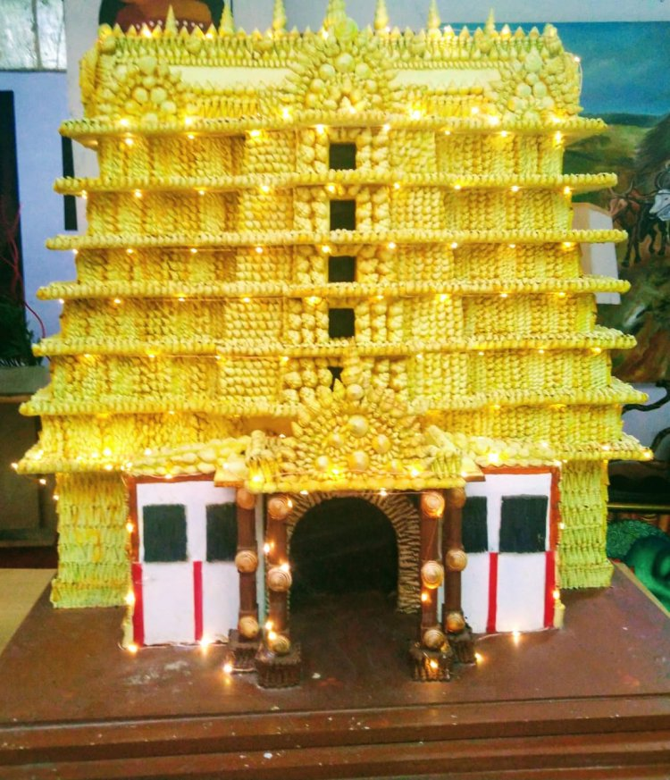 Kakkothi - Sea Shell Exhibhition by Sreeja Vijayakumar at tEnte Bhoomi  Art Center