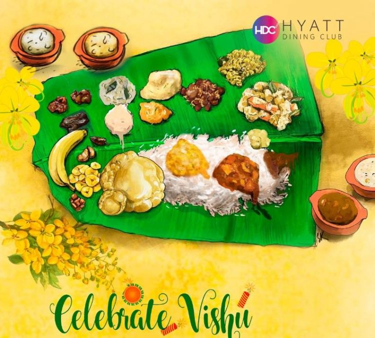 Celebrate Vishu with Grand Vishu Sadhya at Grand Hyatt Kochi Bolgatty