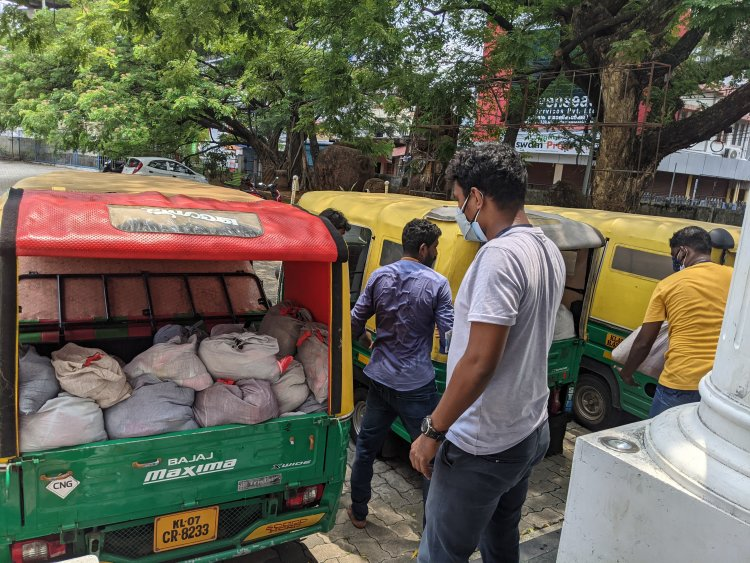 Tukxi autos distribute over 20,000 food packets, 4,000 kits in lockdown-hit Kochi