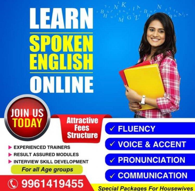 Learn Spoken English online in just 30 days.