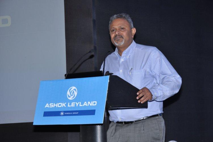 Ashok Leyland announces Senior Level Organisational movements .