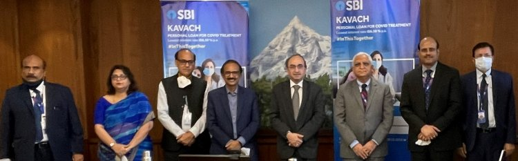 SBI launches 'Kavach Personal Loan' scheme for COVID patients.