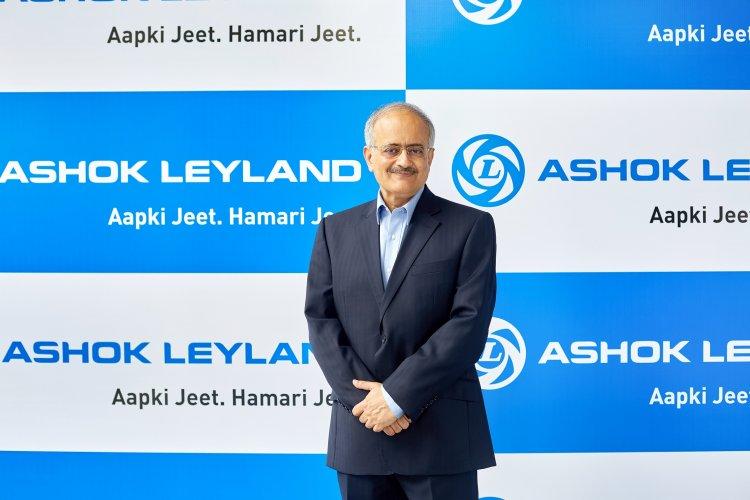 Ashok Leyland showcases future-readiness through Switch Mobility Ltd.