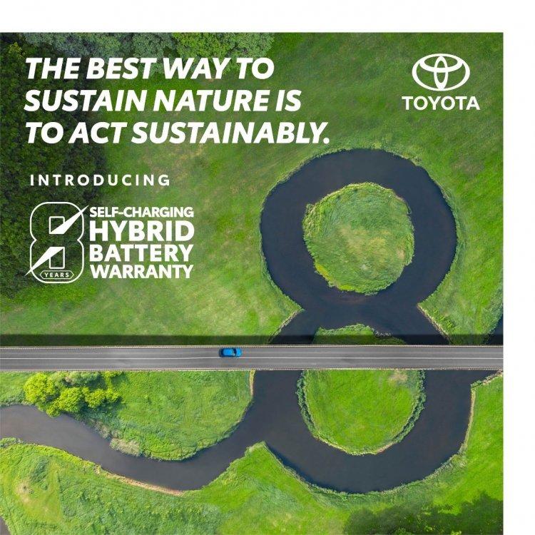 Toyota Kirloskar Motor Extends Battery Warranty on Self-charging Hybrid Electric Models, putting 'Customers First'.
