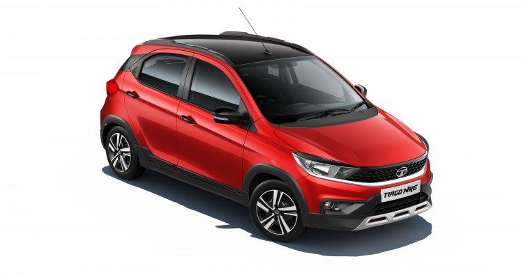 Tata Motors drives in the all-new Tiago NRG.